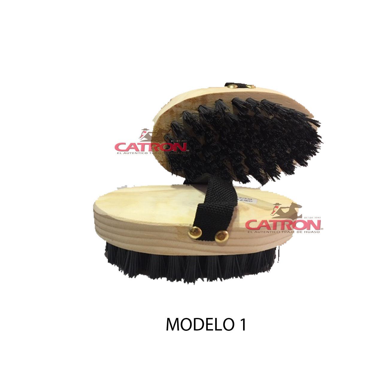 Escobilla de cola madera