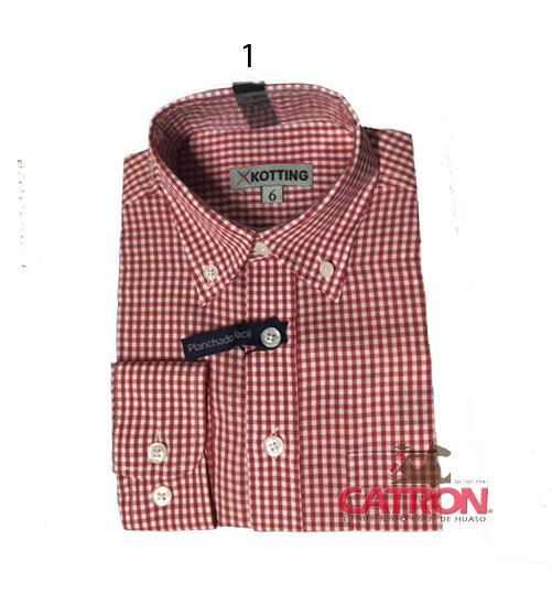 Camisas niño T2/10