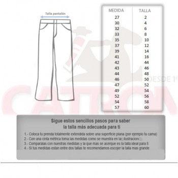 Pantalón Casimir Tradicional T 2/8