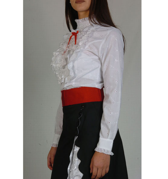 Blusa Broderie Blanca