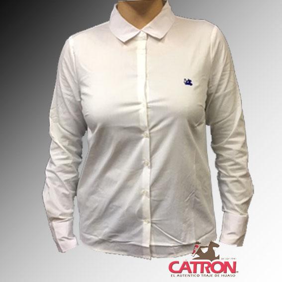 Blusa corralera blanca