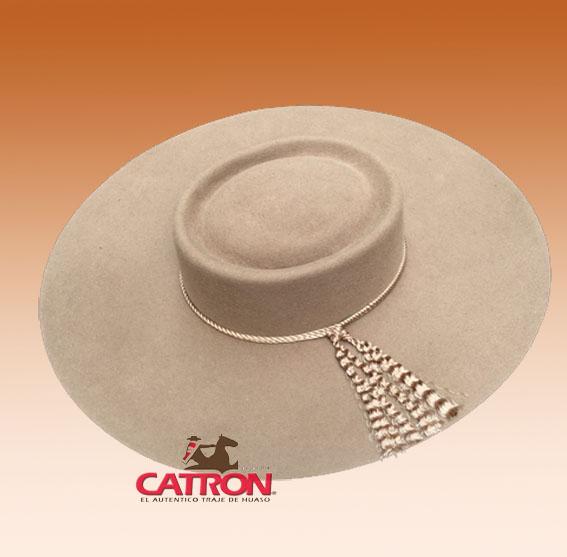 Sombrero de paño Beige