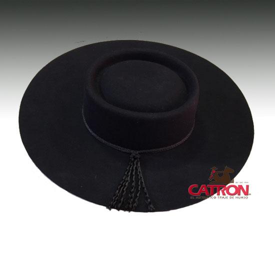 Sombrero de paño Negro