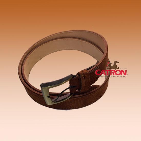 Cinturón Carpincho liso