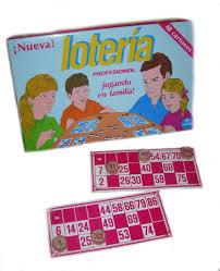 Lotería Madera ( 48 Cartones)