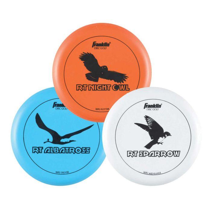 Pack de 3 freesbees Franklin