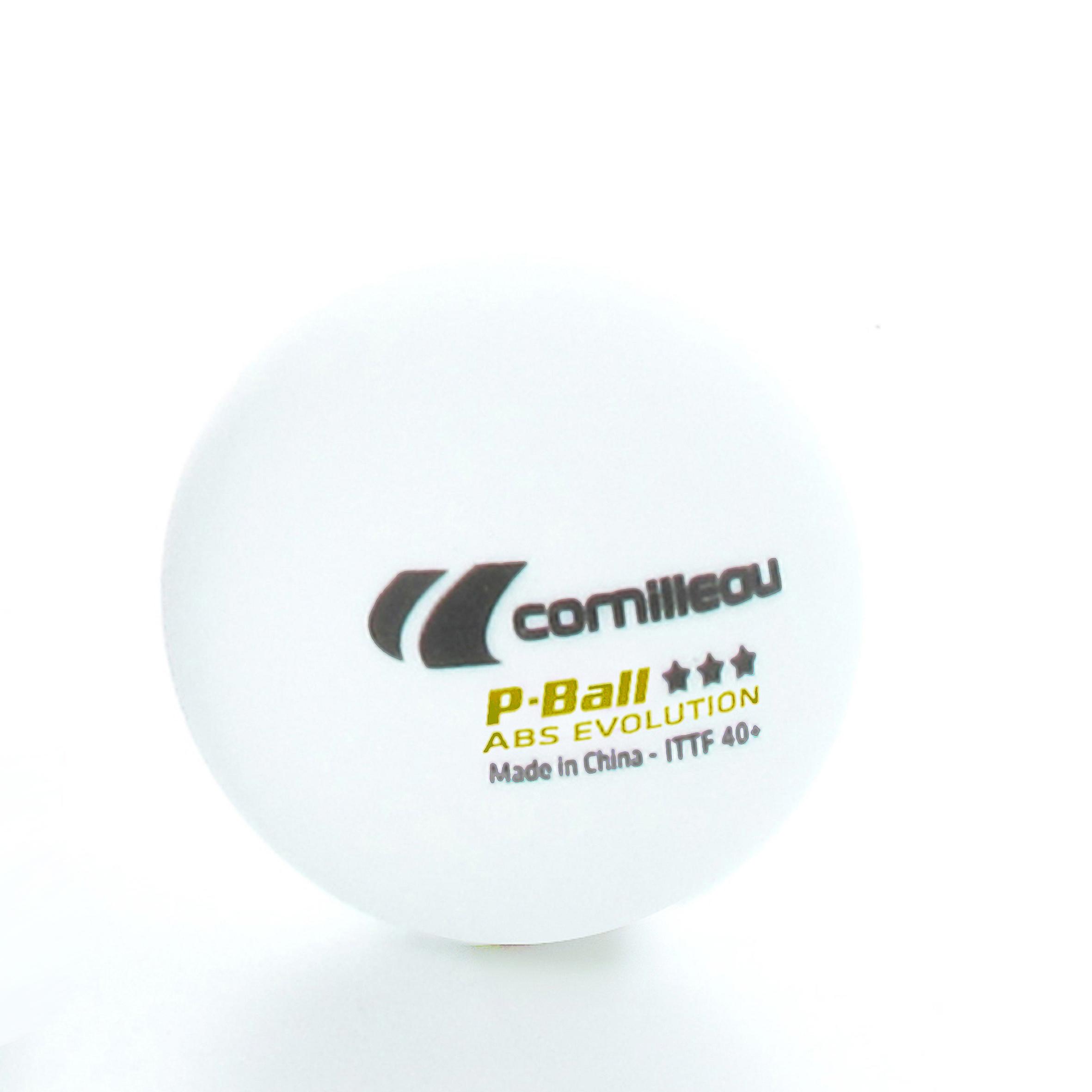 Pelotas Cornilleau P-Ball Ittf 3