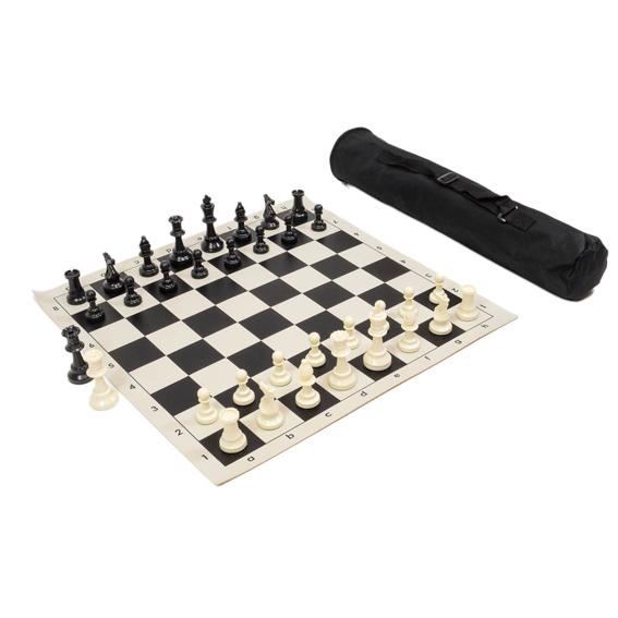 Set de ajedrez enrollable para torneo, extra peso y calidad