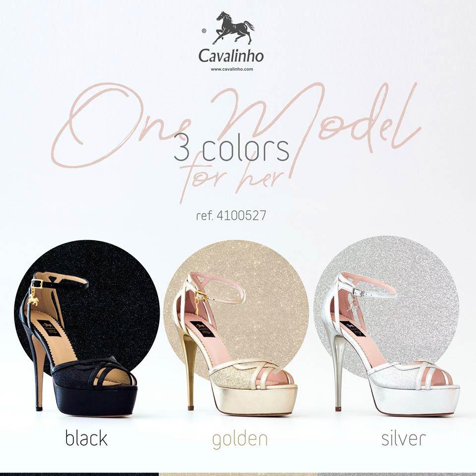 SANDÁLIA CAVALINHO BLACK HEIGHTS