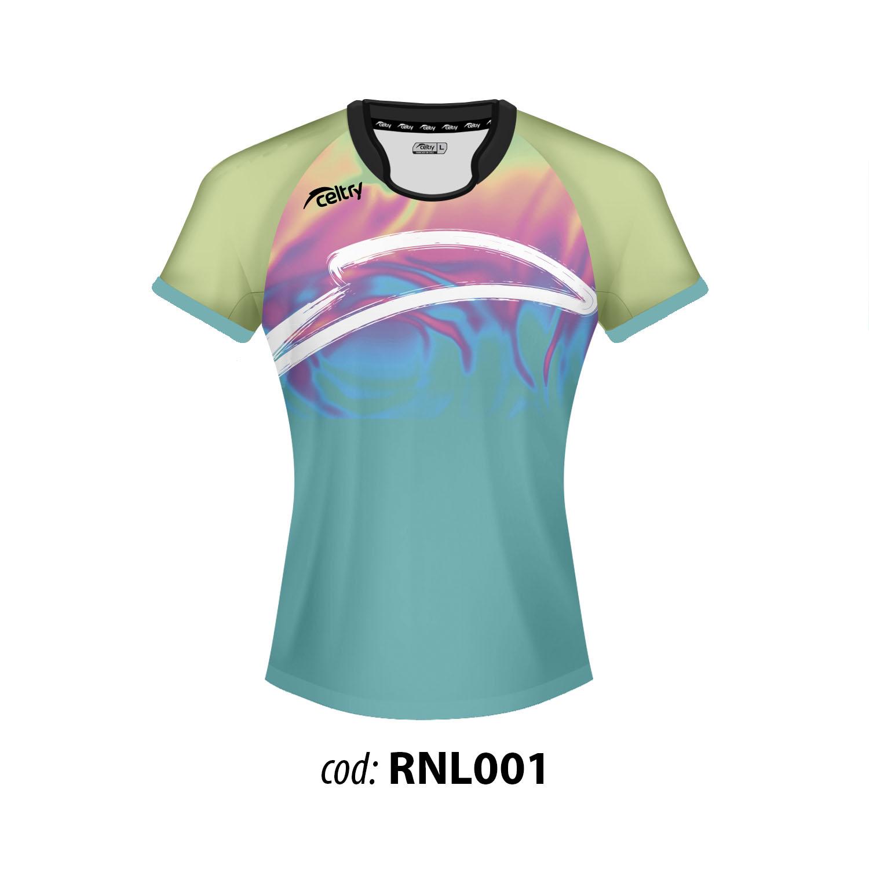 Camiseta de entrenamiento rugby RNL001