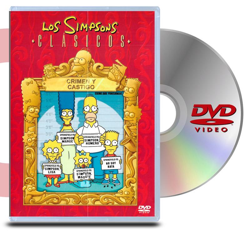 DVD Los Simpsons Crimen y Castigo
