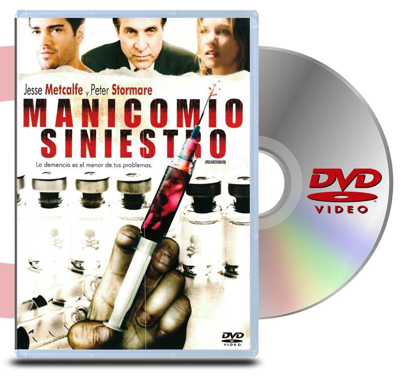 DVD Manicomio Siniestro