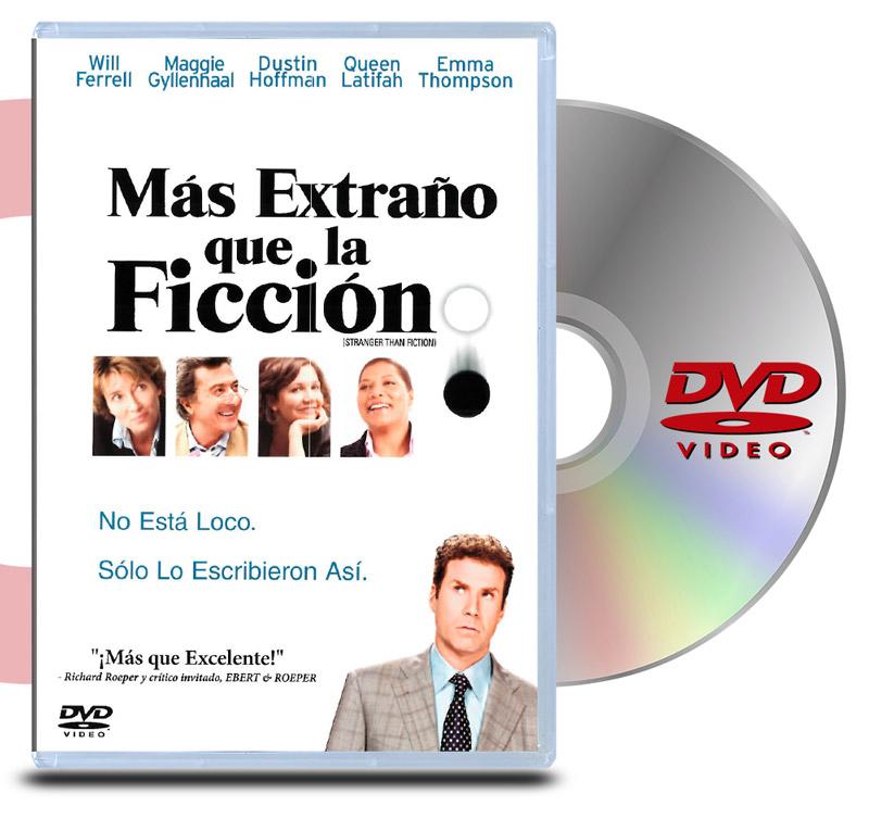 DVD Mas Extraño que la ficcion