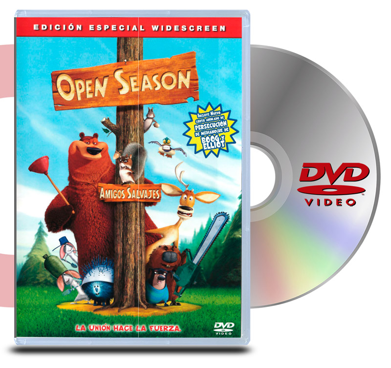 DVD Open Season, Amigos Salvajes