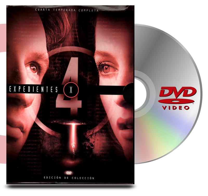 DVD Archivos Secretos X Temp 4