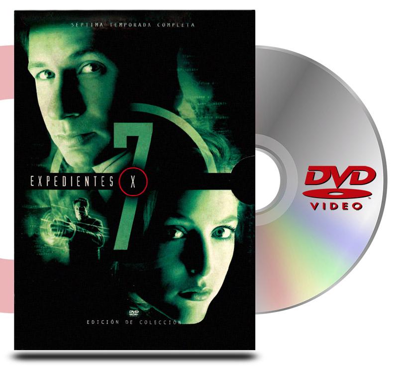 DVD Archivos Secretos X Temp 7