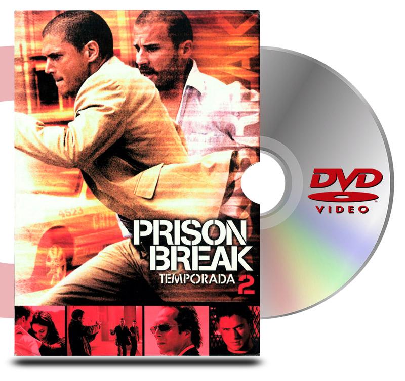 DVD Prison Break Temp 6