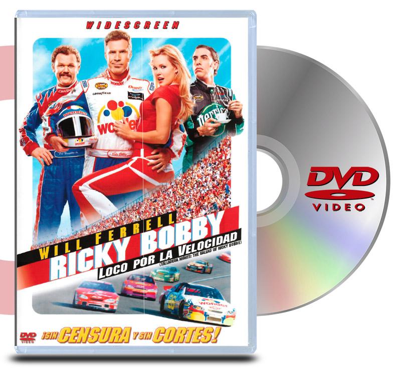 DVD Ricky Bobby Loco Por La Velocidad
