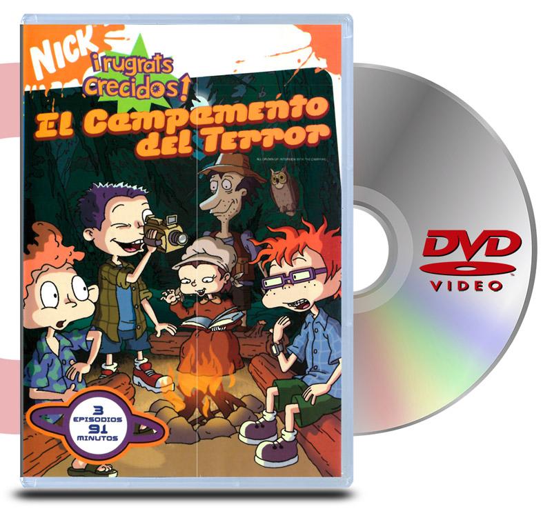 DVD Rugrats Crecidos Campamento de terror