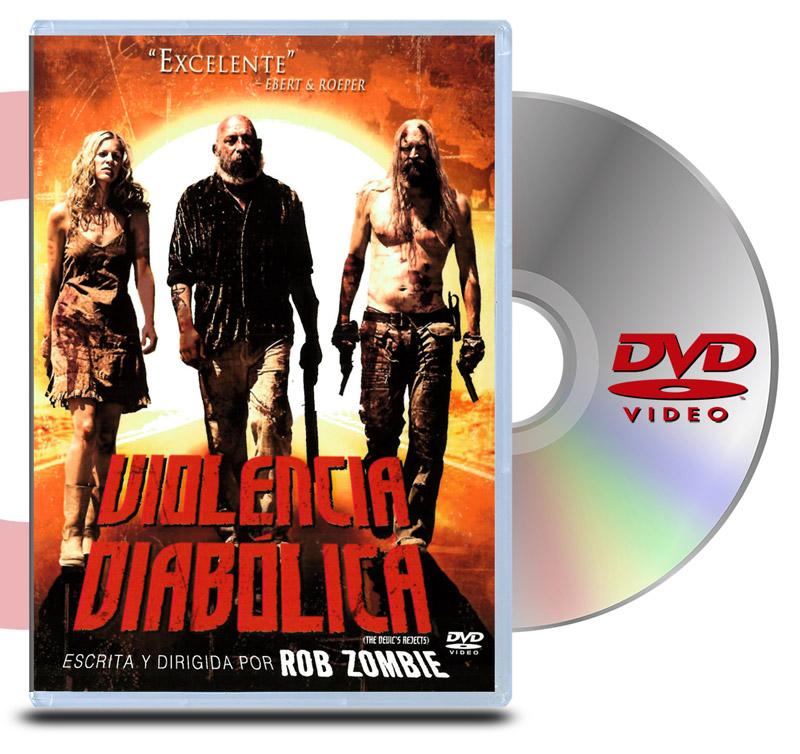 DVD Violencia Diabolica