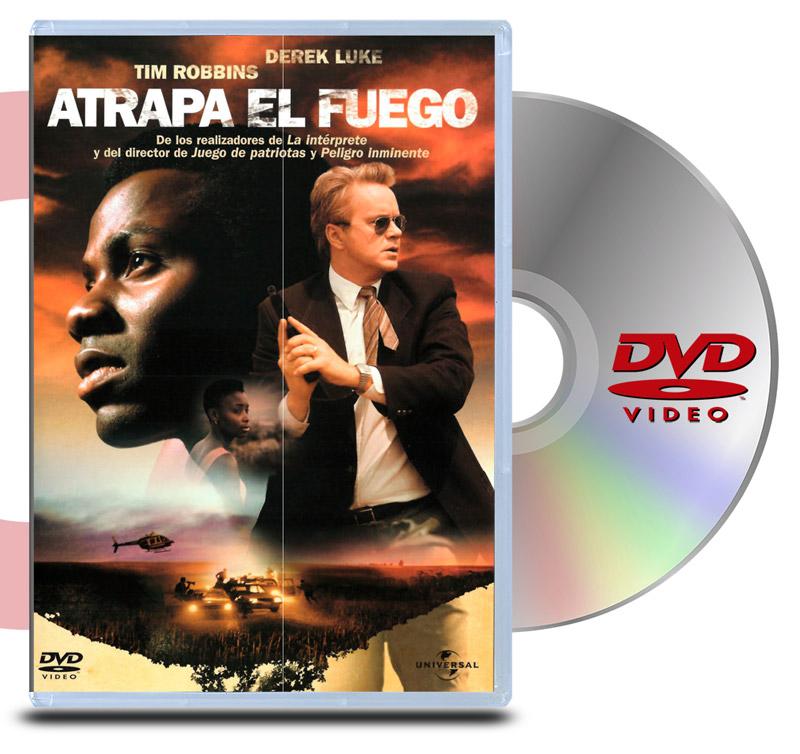 DVD Atrapa el fuego