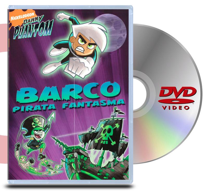 DVD Danny Phantom: Barco Pirata Fantasma