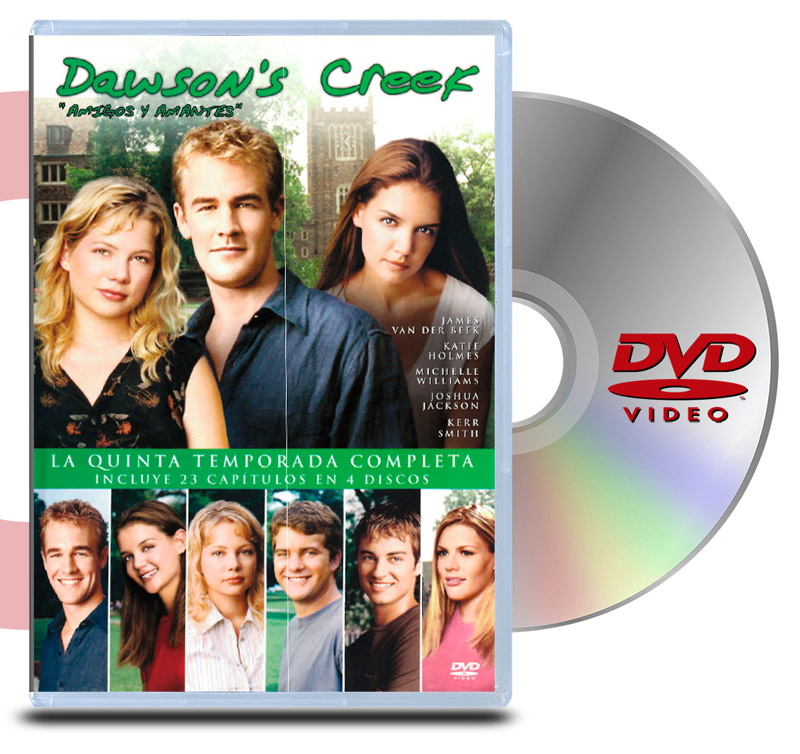 DVD Dawson's Creek Temp 5