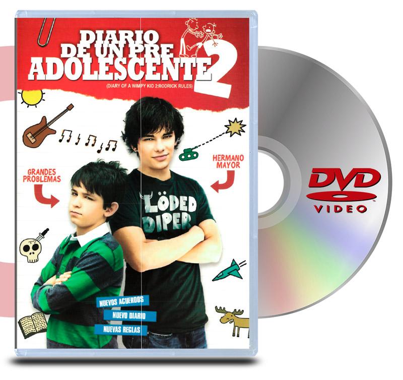 DVD Diario de un Pre Adolescente 2