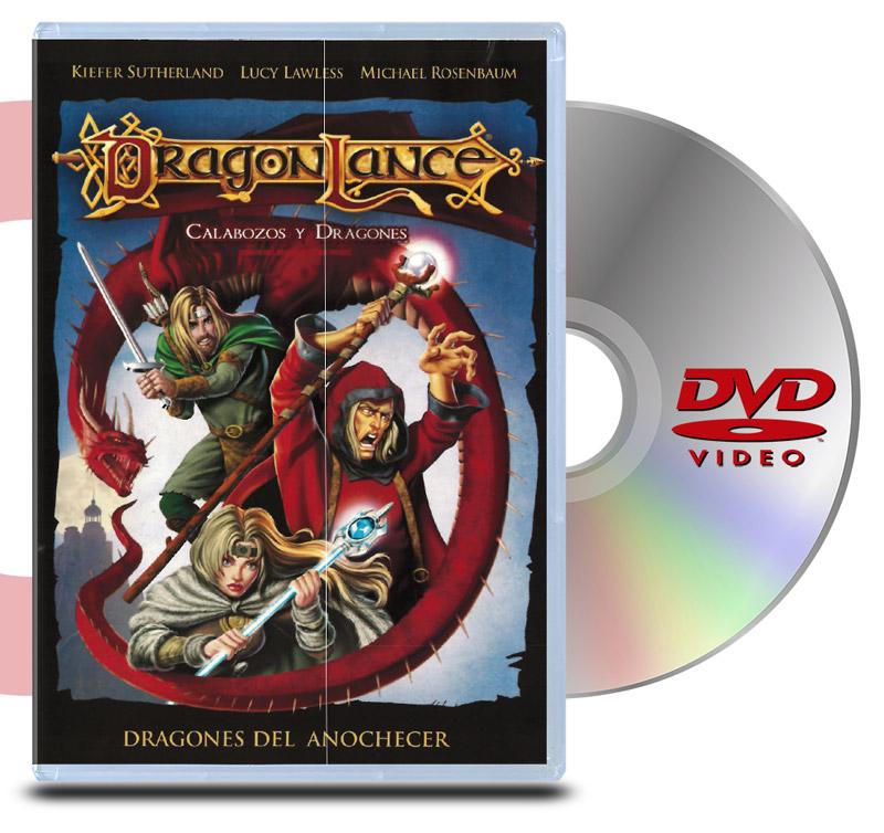 DVD Dragonlance: Calabozos y Dragones