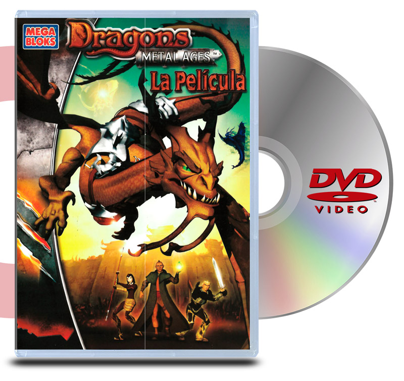 DVD Dragons: Metal Ages