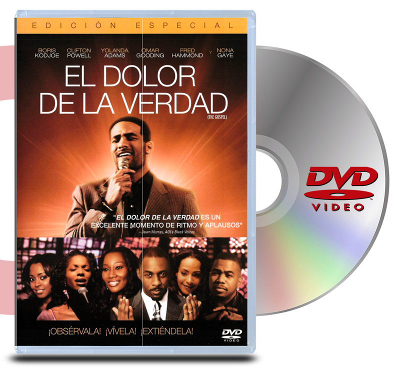 DVD El Dolor de la Verdad