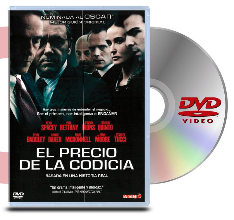 DVD El precio de la Codicia