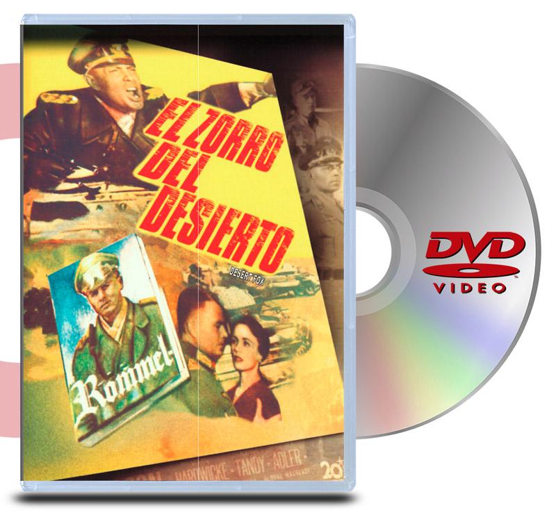 DVD El Zorro del Desierto