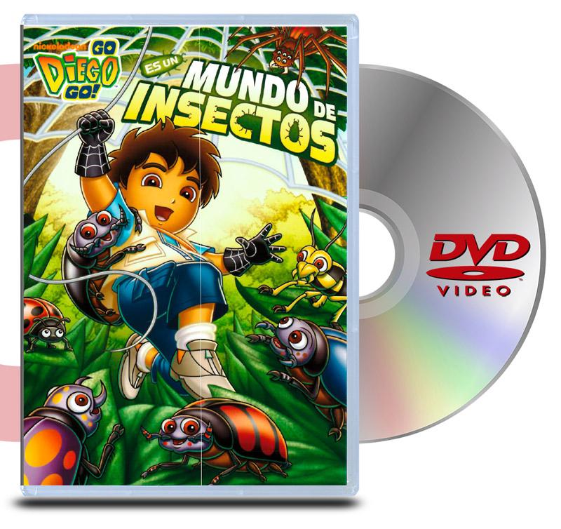 DVD Go Diego Go: Es Un Mundo De Insectos