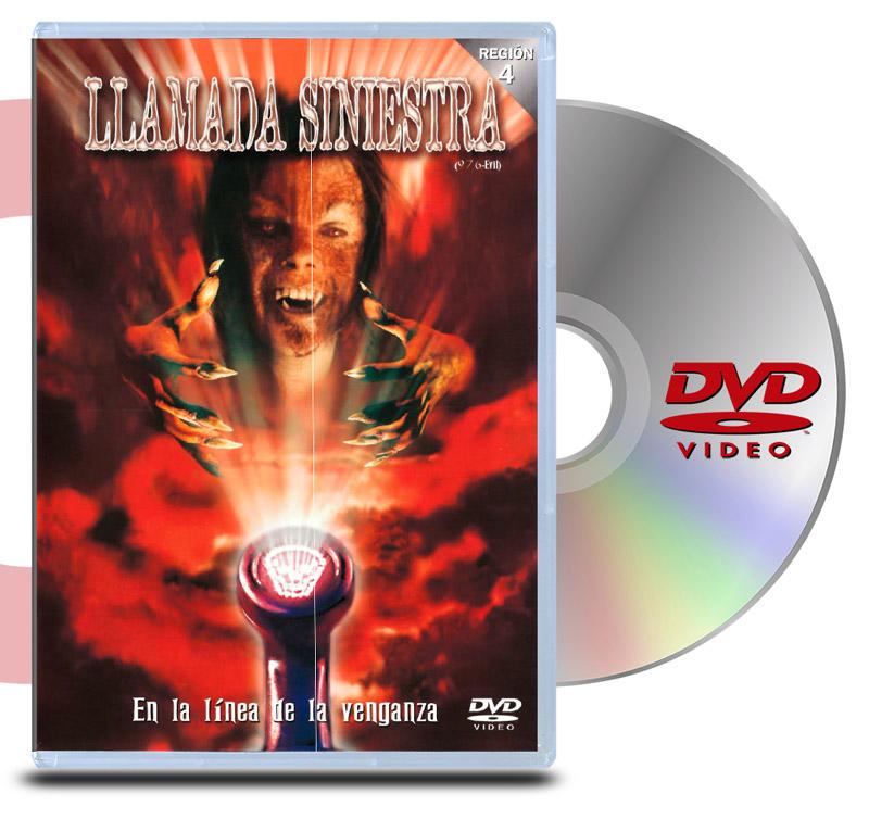 DVD Llamada Siniestra