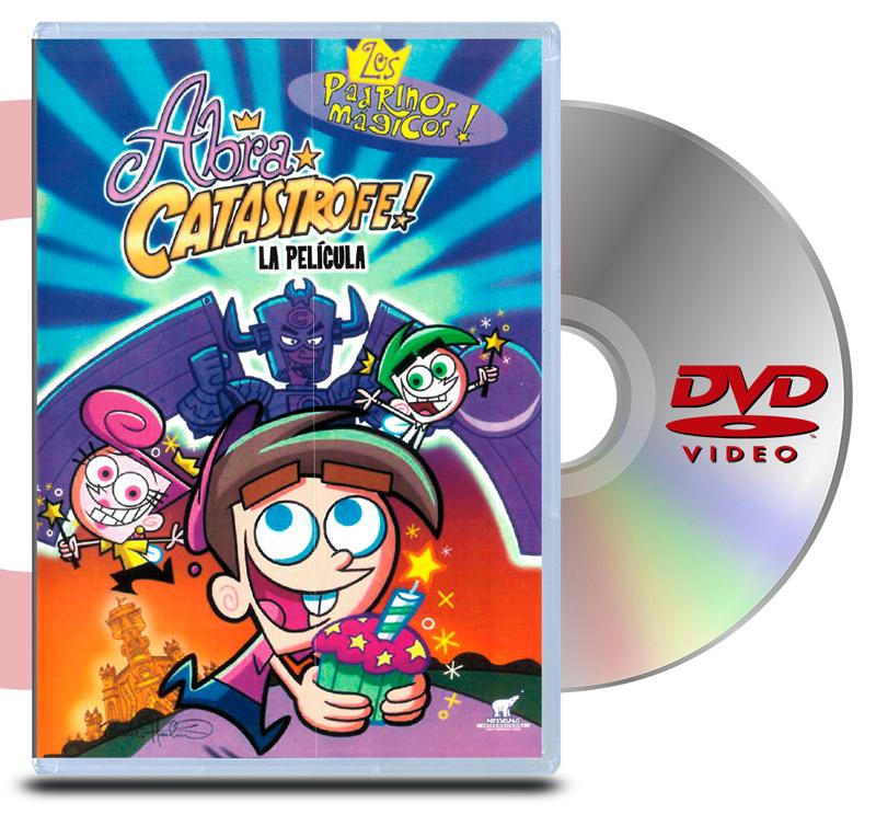 DVD Los Padrinos Magicos: Abra Catastrofe