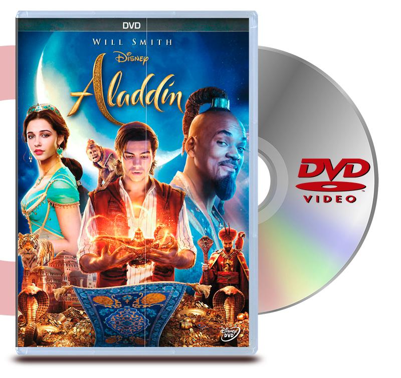 DVD Aladdin La