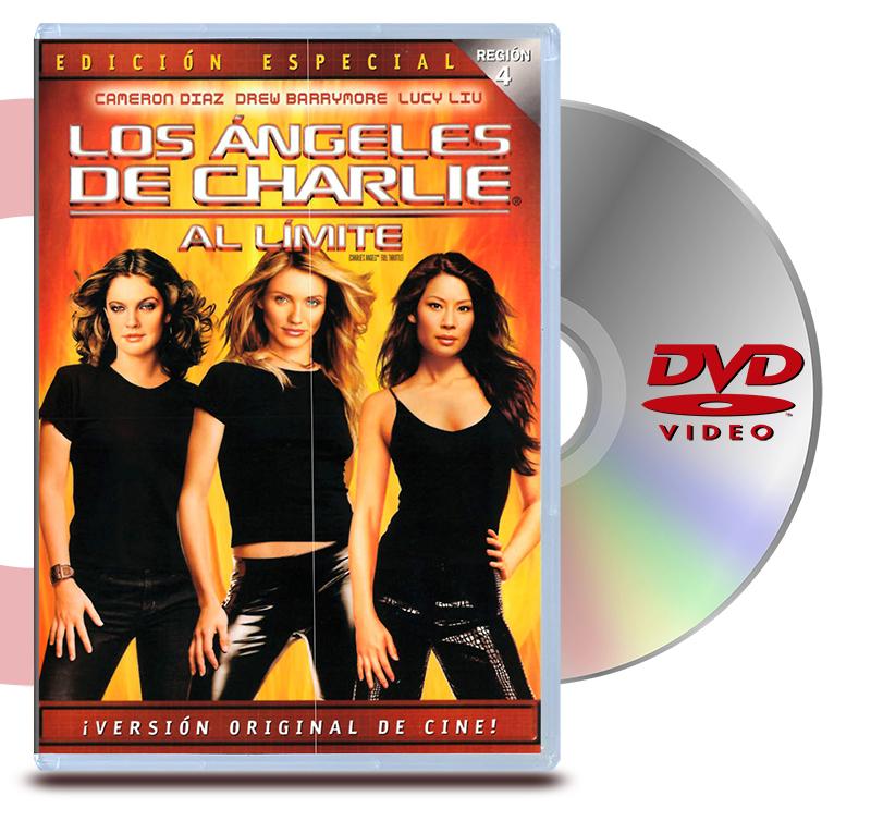 DVD Angeles De Charlie Al Limite
