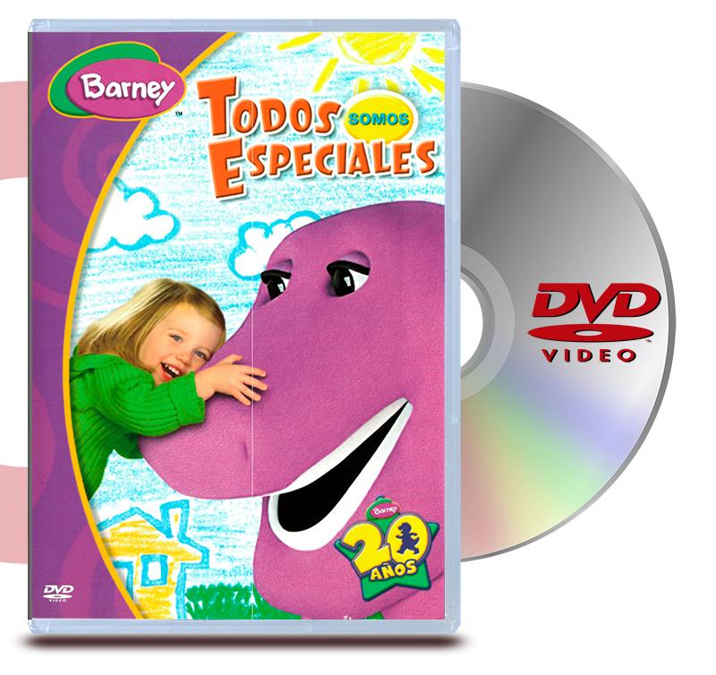 DVD Barney: Todos Somos Especiales