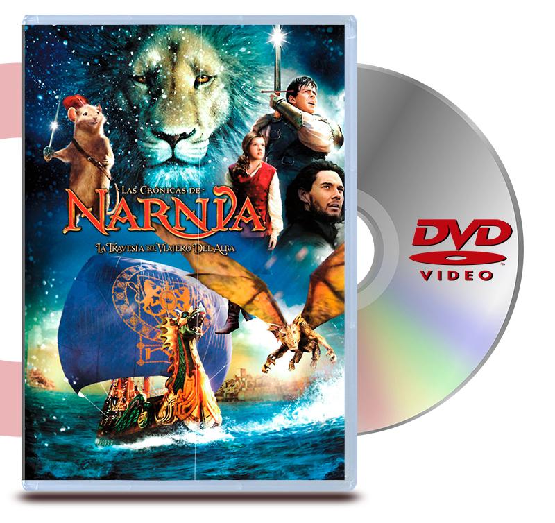 DVD Cronicas De Narnia, La Travesia Del Viajero Del