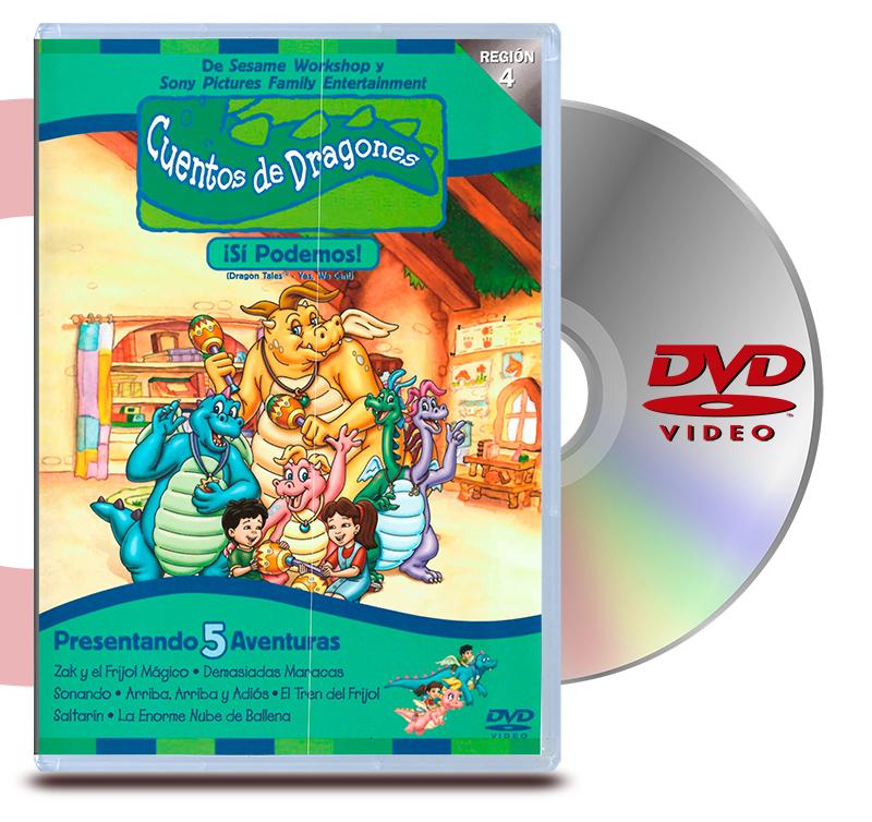DVD Cuentos De Dragones, Si Podemos