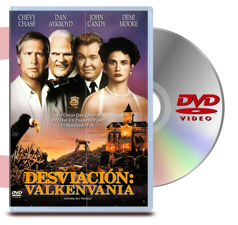 DVD Desviacion En Valkenviana