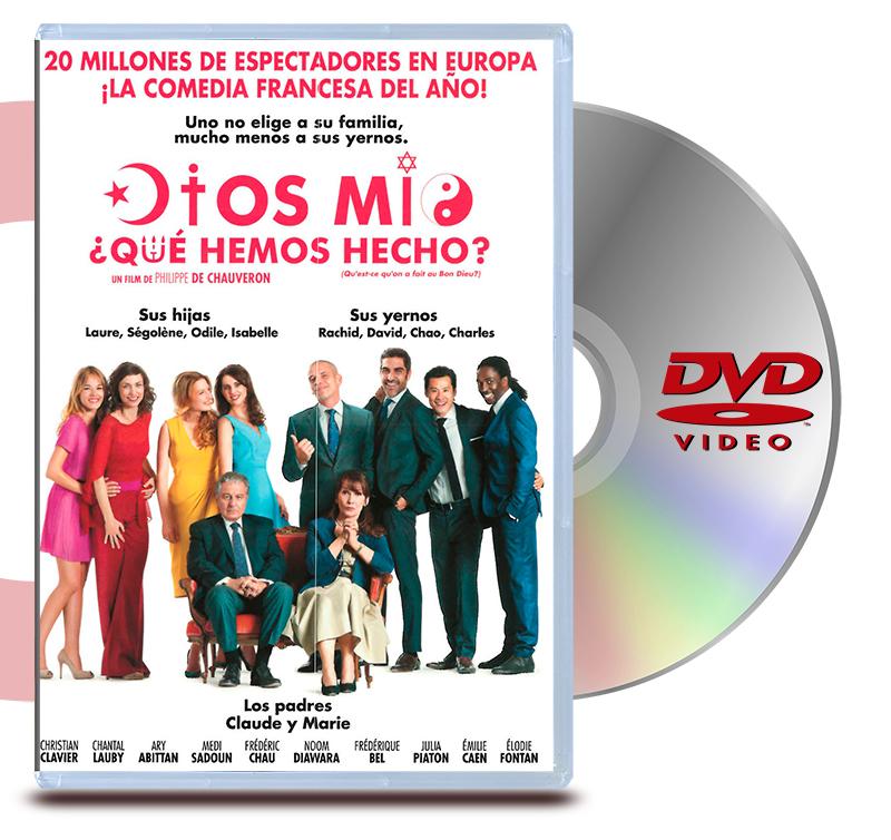 DVD Dios Mio Que Hemos Hecho