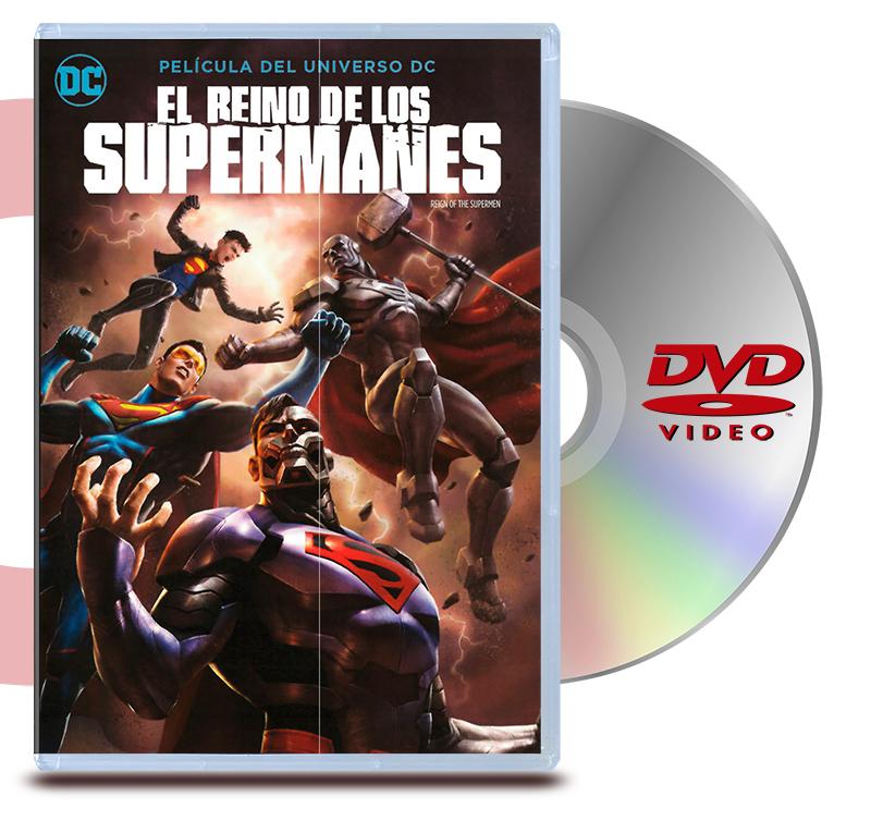DVD El Reino De Los Supermanes