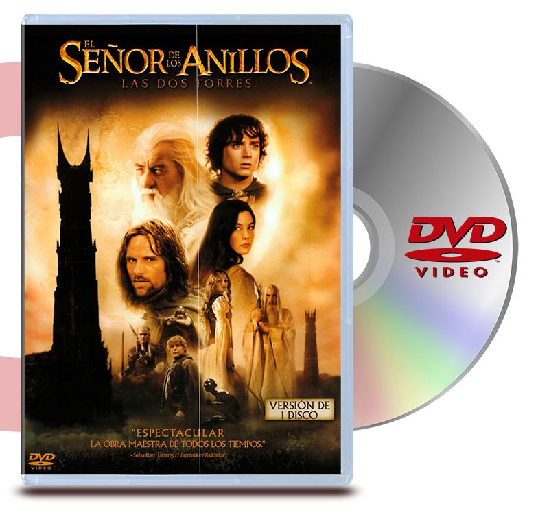 DVD El Señor De Los Anillos 2: Las Dos Torres