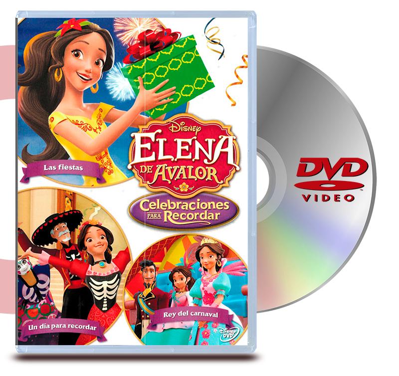 DVD Elena De Avalor Celebraciones Para Recordar