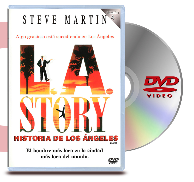 DVD L.A. Story: Historia De Los Angeles