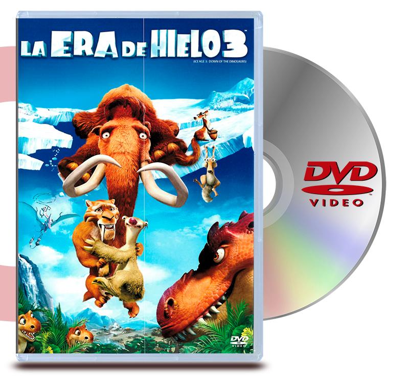 DVD La Era De Hielo 3