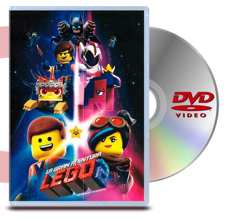 DVD La Gran Aventura Lego 2