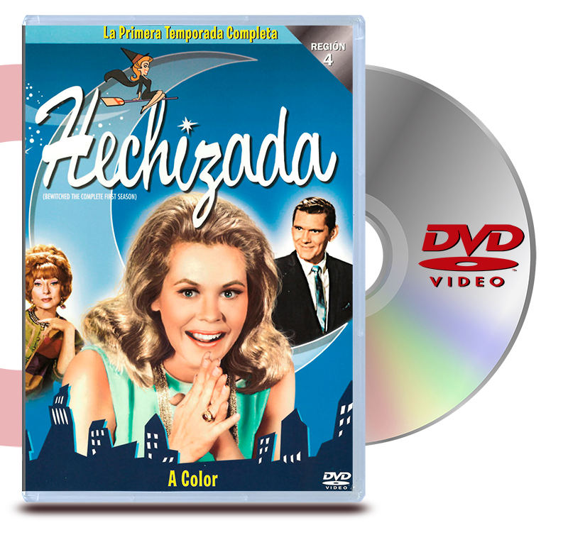 DVD La Hechizada: Temp. 1 (4 Discos)